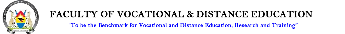 Faculty Of Vocational & Distance Education Logo